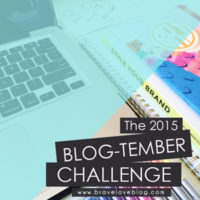 Blog-tember Challenge #1