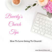How To Love Going To Church – It Starts In The Parking Lot
