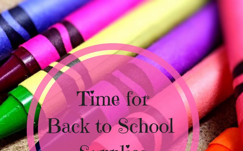 Needed!  School Supplies!
