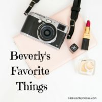 Beverly's Favorite Things
